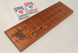 4 track Engraved Continuous Clamshell Board