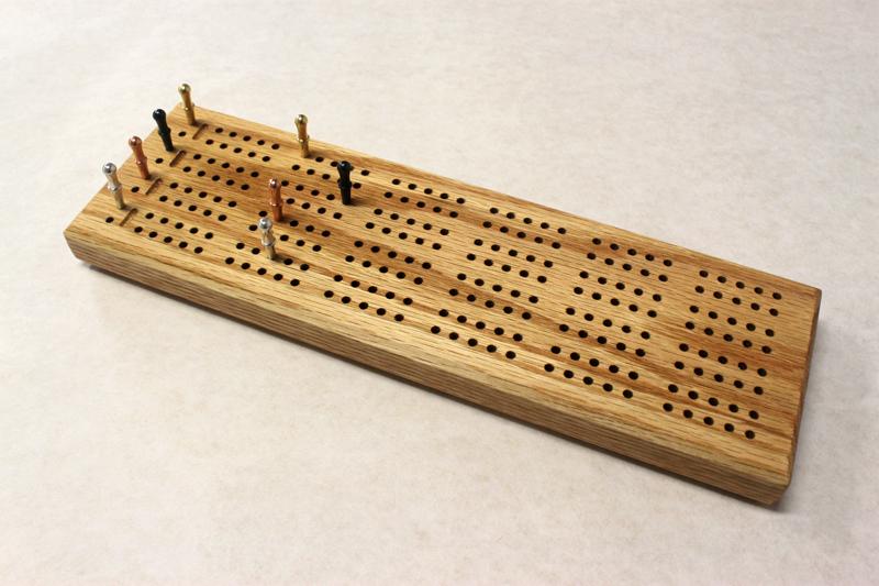 4 Track Standard Cribbage Board
