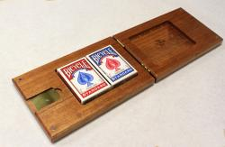 3 Track Racetrack Folding Cribbage Board