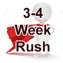 3-4 Week Rush